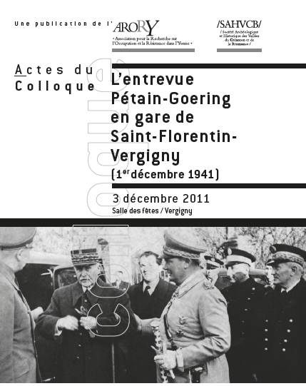 rencontre petain goering